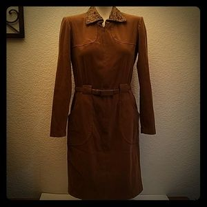 Vintage Liz Claiborne soft polyester dress coat 6